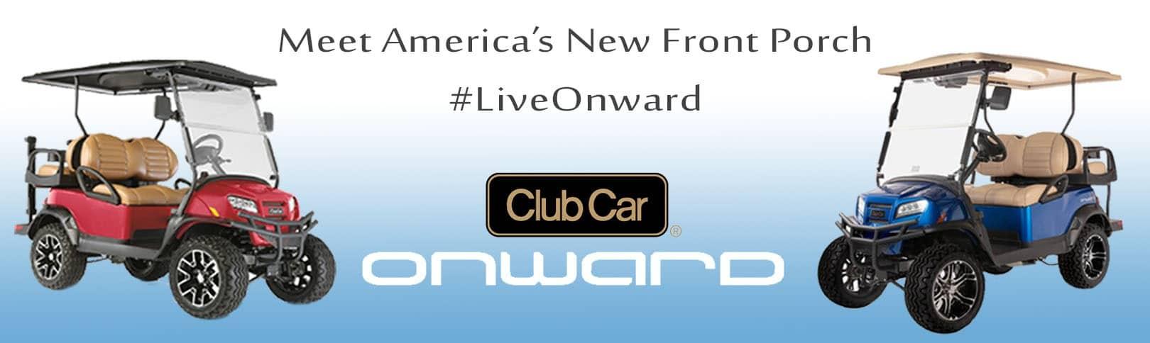 Club Car Onward Banner