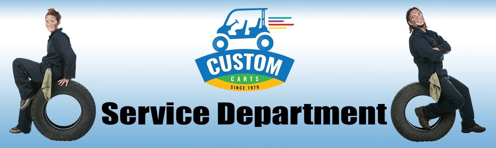 Service Department at Custom Carts