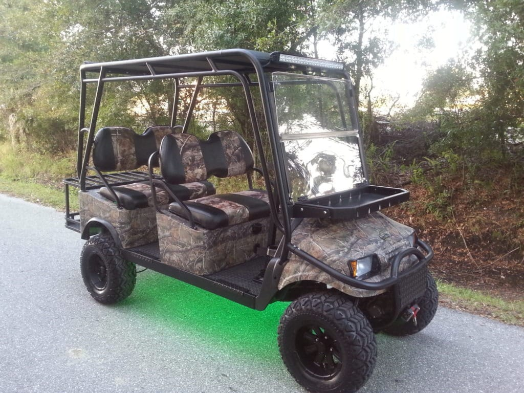 4 Front Hunting Buggy Custom Golf Cart