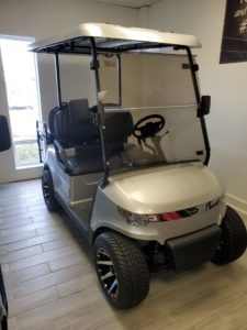StarEV Capella Golf Cart Blue